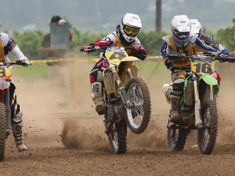 cti brace background motocross